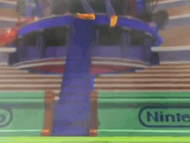 #Wario tries to copy #Waluigi but unfortunately isn't quite as graceful as his more slender brother  Ever played #WarioWorld on #Gamecube ? We got a page for it at http://www.superluigibros.com/wario-world