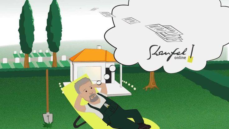 Shaufel.de - Software für Friedhofsgärtner. Shaufel Online übernimmt die Verwaltung Ihrer Friedhofsgärtnerei. #explainervideo #erklärvideo @shaufel