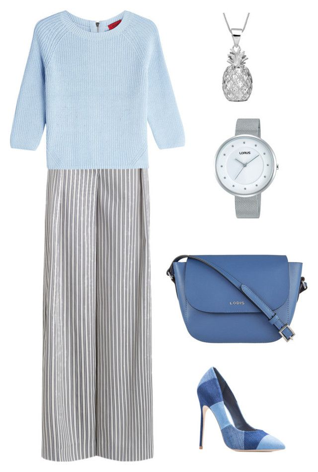 light summer work outfit by justyna-kowalcze on Polyvore featuring moda, HUGO, Zimmermann, Lodis and Lorus
