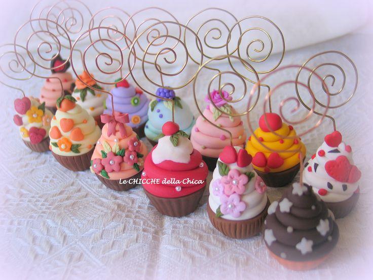 Cupcakes porta-memo