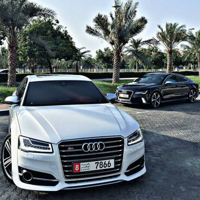 Audi S8 / Audi Rs7 : The Great White Shark meets Black Panther