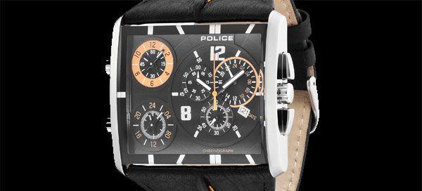 Novo relógio Police para os mais viajados