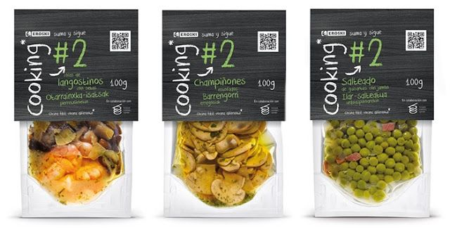 Eroski Cooking on Packaging of the World - Creative Package Design Gallery
