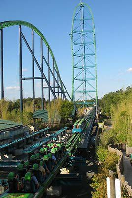 Kingda Ka at Six Flags Great Adventure.