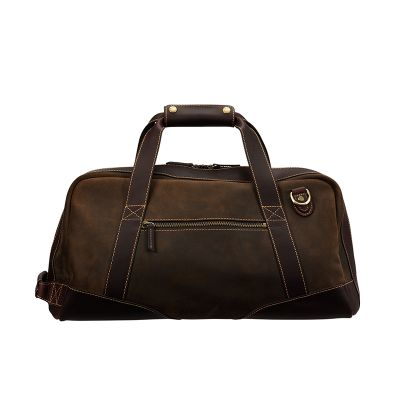 BARON  DUFFLE BAG SMALL  €443  A Duffel Bag from Baron made ​​from naturally treated Italian suede with leather details of the best quality. The inside is lined with checkered fabric. The bag can hold 30 liters and has an inside pocket, an exterior zip pocket and a detachable adjustable shoulder strap.