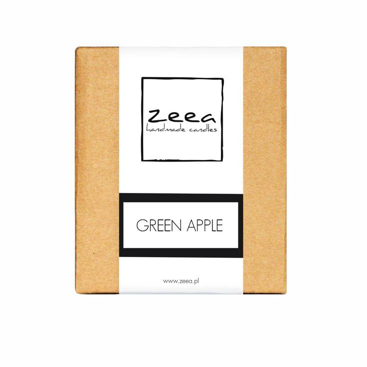 CLASSIC - świeca zapachowa, Green Apple.
