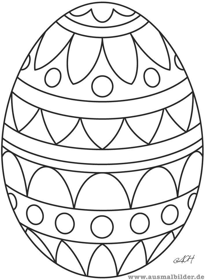 Coloring Page Easter Egg Season Easter Pinterest Coloring Easter Pinterest Season Malvorlagen Ostern Osterei Malvorlage Ostereier Ausmalen
