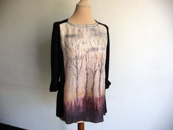 Trend top/ tunic / blouse longsleeves/ by ArtTetisCollections, $75.00