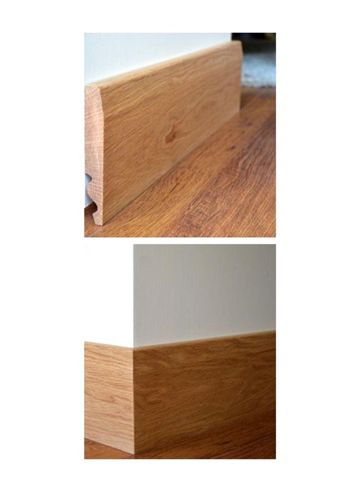 Chamfer Solid Oak Skirting Boards