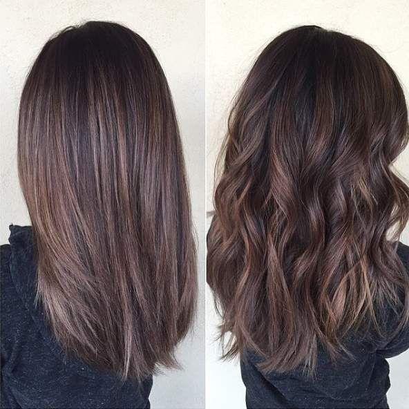 13 Hair Color Ideas For Brunettes Brown Hair Balayage Balayage Hair Hair Lengths