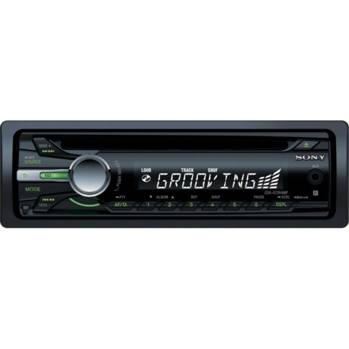 Sony CDX-GT264MP CD/MP3 stereo with front AUX input - Car Audio Centre