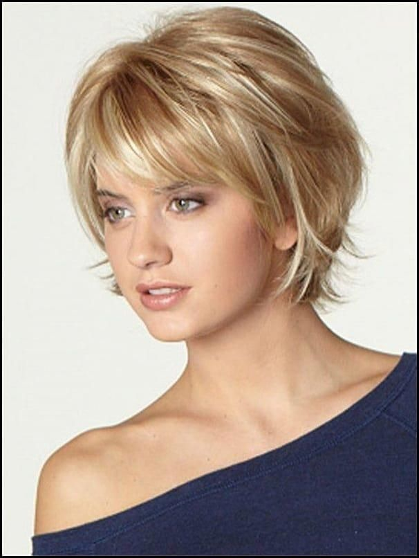 Short Hairstyles For Women Over 50 With Round Faces Faces
