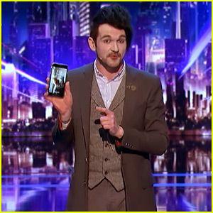 Mind Reader Colin Cloud's iPhone Trick Wows 'America's Got Talent' Judges! (Video)