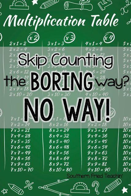 1000 idées sur le thème Skip Counting Games sur Pinterest | Comptage ...
