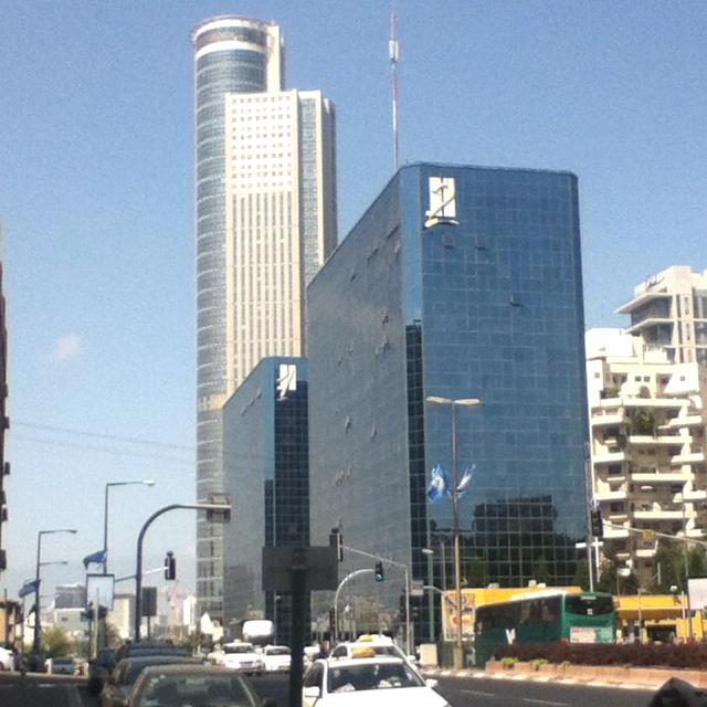 Ramat Gan, Israel. Twin towers.
