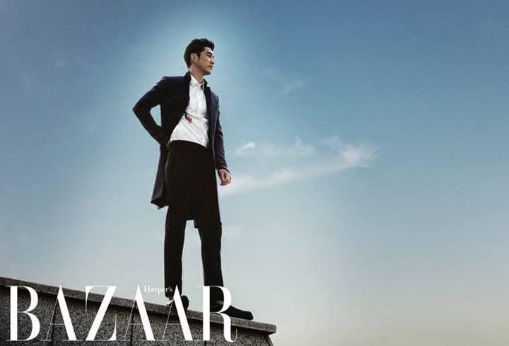 Yoon Kye Sang - Harper's Bazaar Magazine May Issue '14