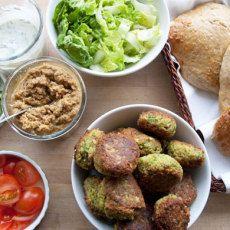 Falafler - Opskrift på den bedste fabelagtig sprøde falafel