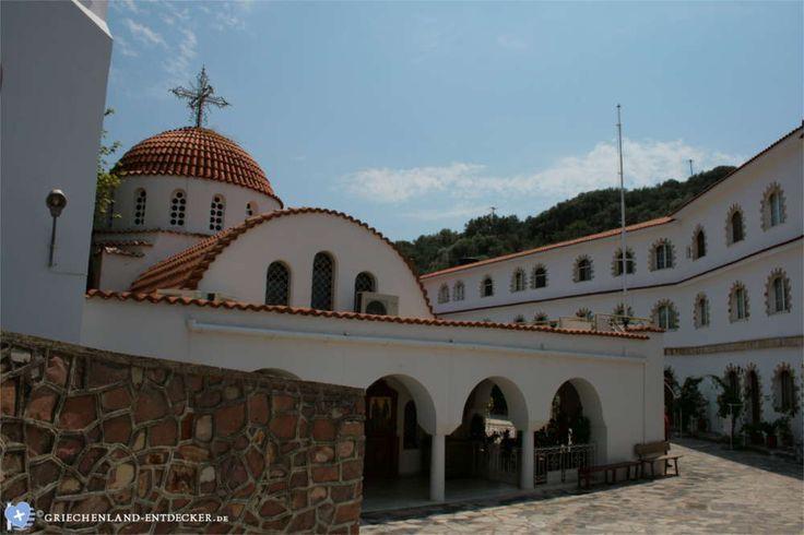 Das Kloster Agios Rafail auf der griechischen Insel Lesbos