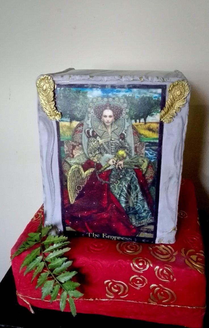 Birthday tarot cake