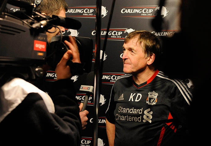A triumphant Kenny Dalglish talks about the club's first trophy in six years.