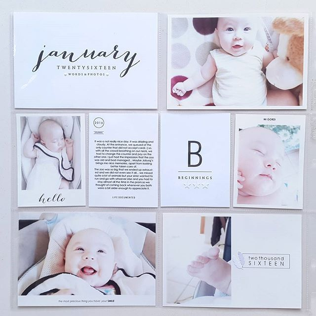 17 Best ideas about Baby Album on Pinterest | Project life baby ...