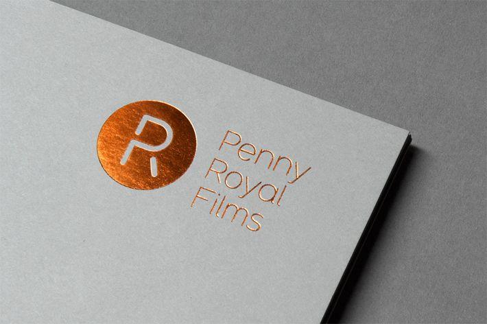 Penny Royal Films является лидером в области мультипликации, визуальных эффектов и телевидения. Они пригласили профессионалов из лондонской студии графического дизайна «Alphabetical», чтобы они разработали айдентику, которая представляла бы их как ведущих производителей фильмов хай-энд класса.