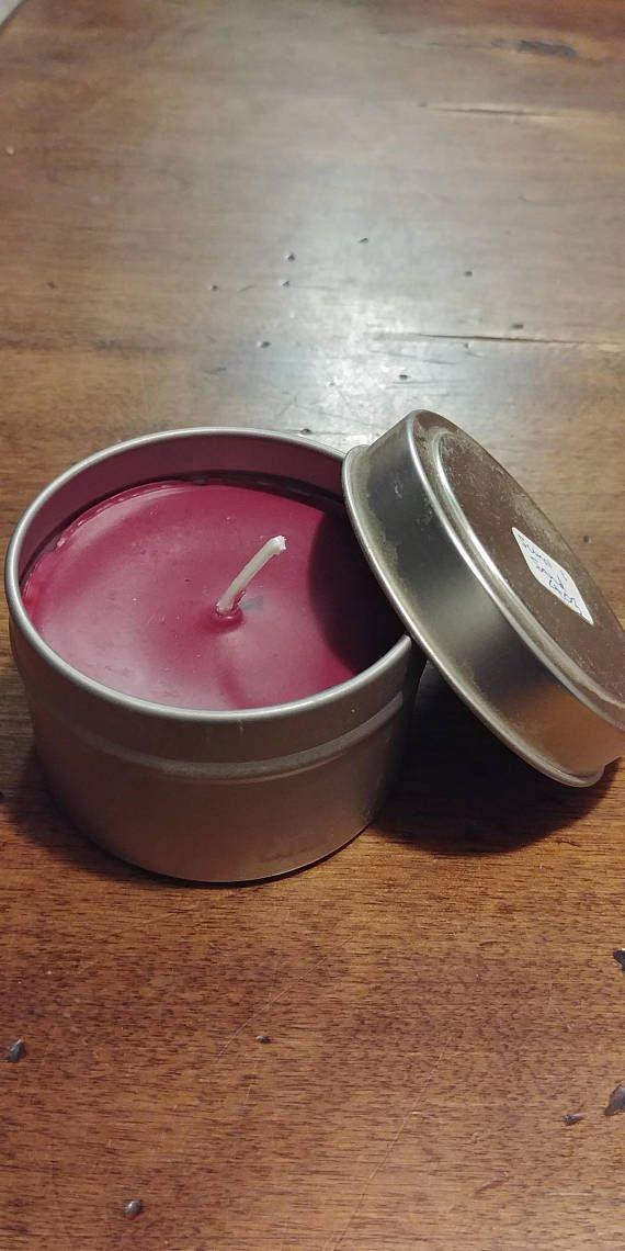 Jar & Tin Candles  Sun and Sand Scent
