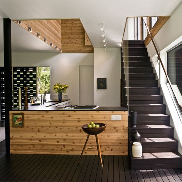 221 best western red cedar interiors images on pinterest for Modern house 6x6