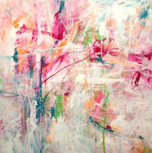 """""""Il mio modo di creare è istintivo, gestuale, slegato da forme realistiche, dettato  dall'inconscio. Lascio libera ogni forma di espressione e, attraverso le macchie  di colore sovrapposte, esprimo ogni tipo di sentimento: gioia, amore, felicità, tormento, passione, odio, dolore, con un linguaggio mai uguale."""" Per info: Roberta Recanatesi, www.robertarecanatesi.com - robyrer@libero.it"""