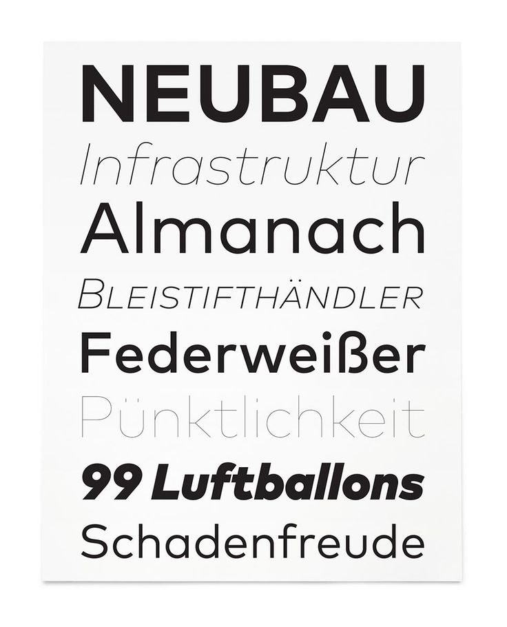FF Mark fonts from the FontFont Library