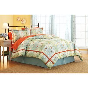 Better homes and gardens posies plaid comforter set - Better homes and gardens comforter sets ...
