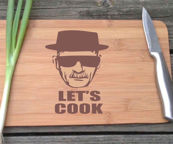 Heisenberg Cutting Board -- Enlist the aid of the world's outstanding cook by drill your meals using the Heisenberg pointed board. This one of a compassionate gallery decoration is made using durable bamboo lumber and hit festoon with an drawing of Walter White's exemplary alter ego on the board's surface.