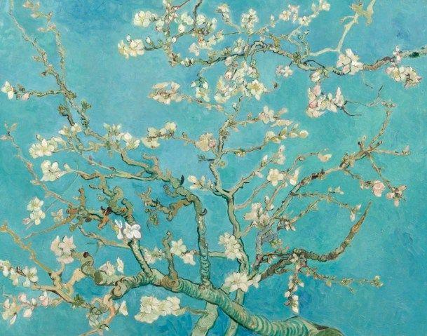 Goodbye Valentino Van Gogh Inspired Van Gogh Almond Blossom Van Gogh Wallpaper Almond Blossom