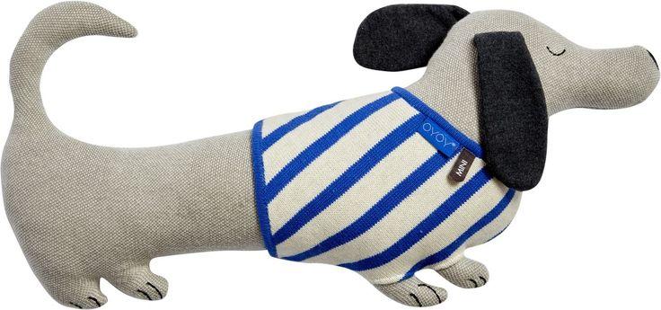 Wuff! OYOY Kissen Hund Slinkii <3 Mehr Infos auf https://www.kleinefabriek.com/.