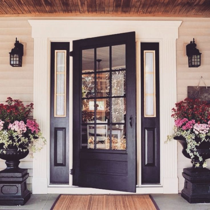 best 25 dark front door ideas on pinterest - Front Door Photos Of Homes