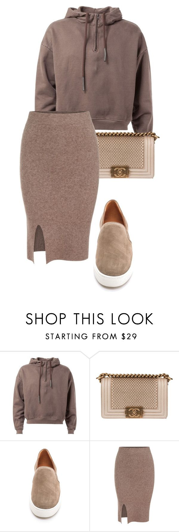 """""""Tones"""" by yeezusdaughter ❤ liked on Polyvore featuring Chanel and Vince"""