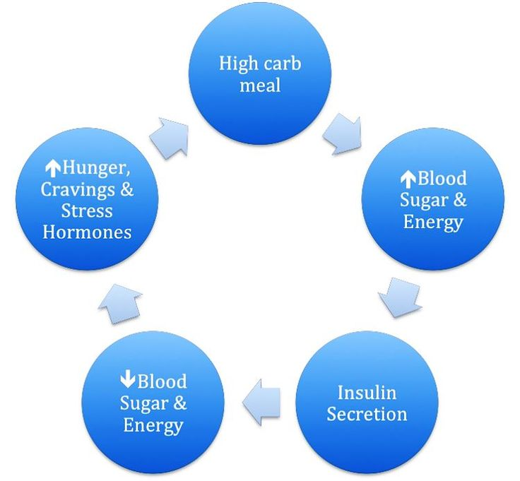 The Carb Hunger Overeat Hormone Cycle