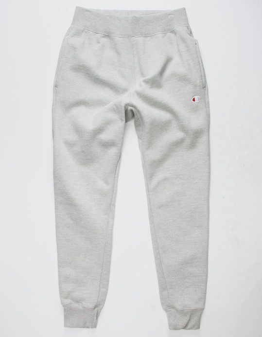 CHAMPION Reverse Weave Gray Mens Sweatpants  3240f68530