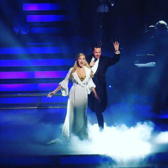 "Operafantomet: phantoming, Emmi Christensson and Peter Jöback in ""I Love..."