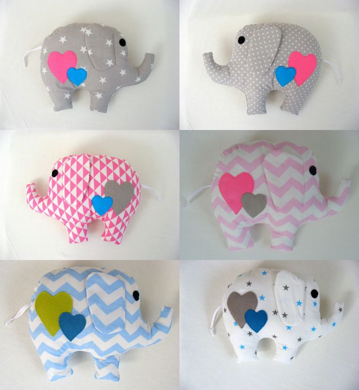 Details about gorgeous handmade elephant pillow baby gift for Handmade things for room
