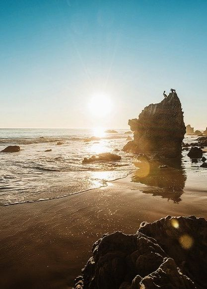 Sometimes it seems like everyone in L.A. heads to Zuma Beach in Malibu on the weekends, but if you drive just four miles north you can get some privacy (and breathtaking scenery) at El Matador.