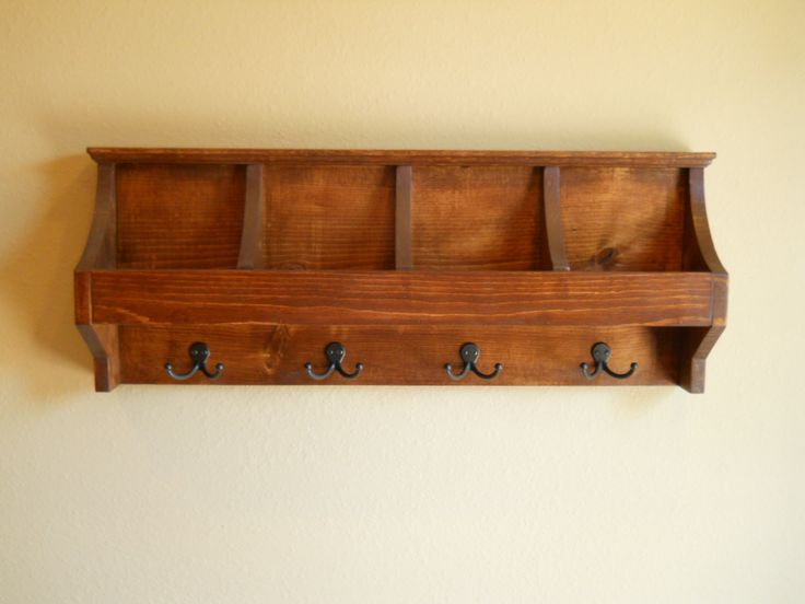 Mail And Key Holder Organizer Mudroom By Cozycreekwoodworking 99 00