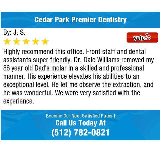 Highly Recommend This Office Front Staff And Dental Assistants