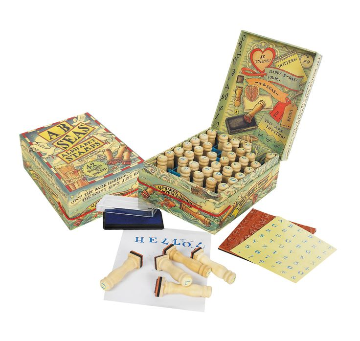 AB Seas Stamp Set www.joannawood.co.uk #games #childrens #stamps