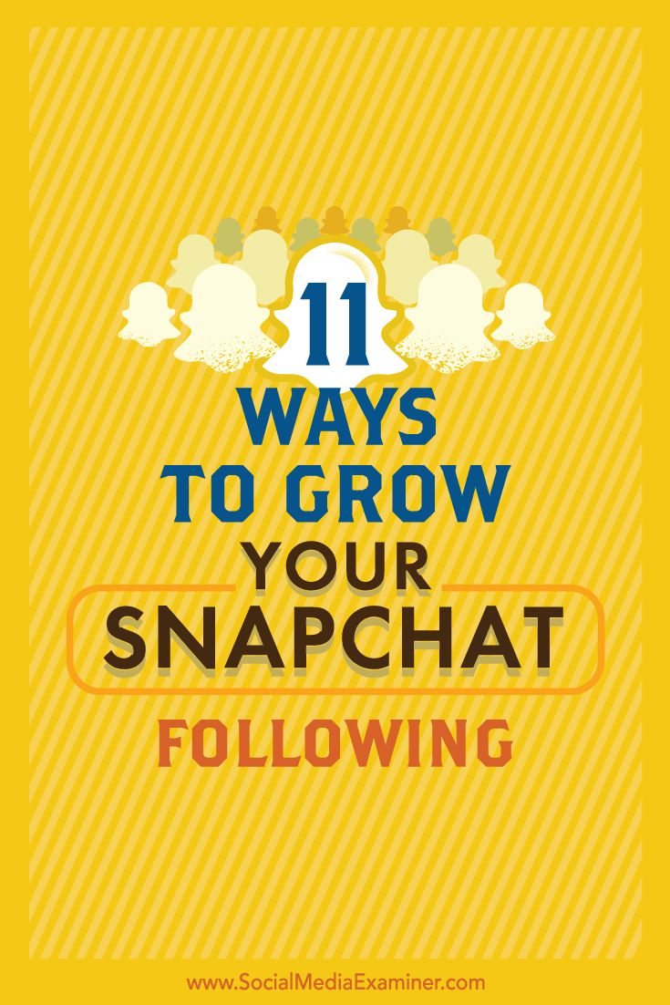 Is your business on Snapchat?  One of Snapchat's biggest challenges is its limited features for getting discovered by other users.  In this article, you'll discover 11 simple ways to grow your audience on Snapchat. Via @smexaminer.