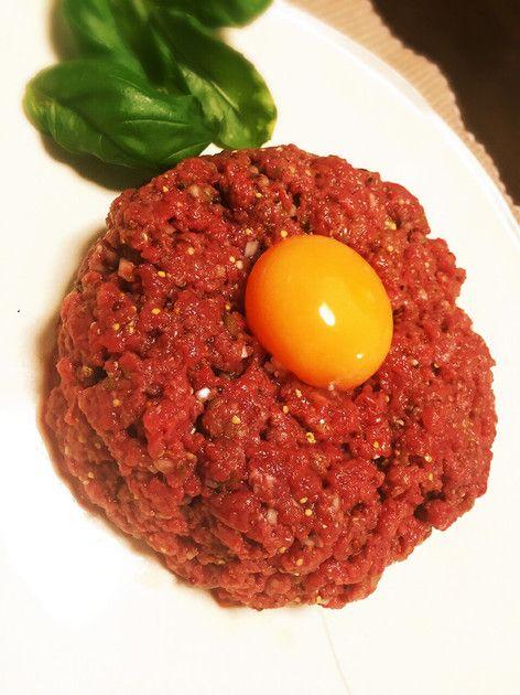 タルタルステーキ〜安い牛もも肉で〜 by 倉つんデラックス [クックパッド] 簡単おいしいみんなのレシピが232万品