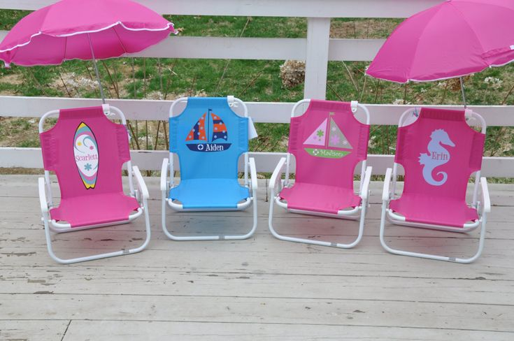 Personalized Child's Beach Chair with by shoppelollipopkids, $36.00