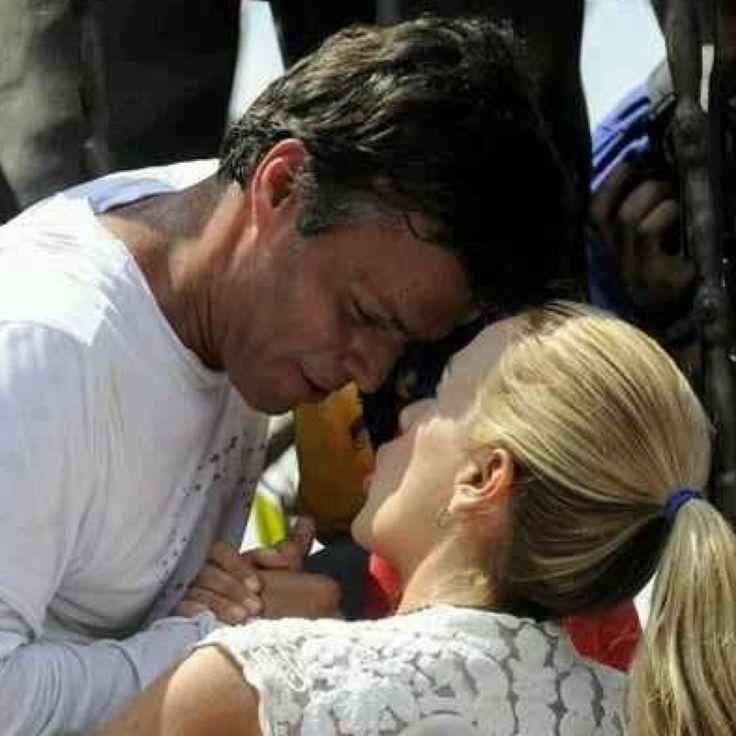 Esposa de Leopoldo López está embarazada