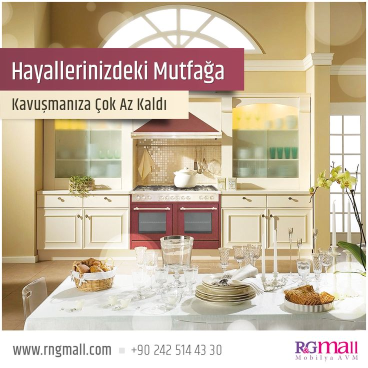 Hayallerinizdeki Mutfağa Kavuşmak İster Misiniz? Detaylar: http://rngmall.com/mutfak/ #alanya #mutfak #mobilya #rngmall #senzoni #ev #dekorasyon #hayal #decoration #furniture #kitchen #home