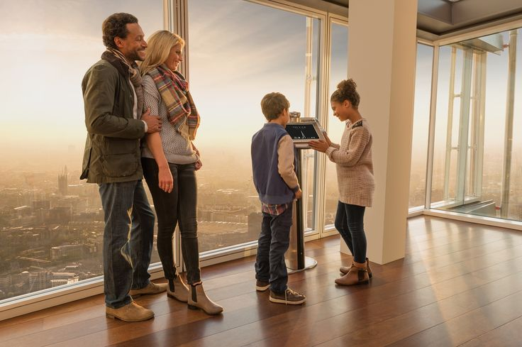 The View at The Shard is a fantastic Family Day out! Book now to get fast track tickets!